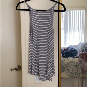 Stripped American eagle top